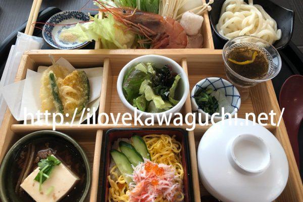 【川口ランチ】川口駅 アリオ川口そば 寿司、しゃぶしゃぶ ゆず庵(ゆずあん)でランチを食べてきました