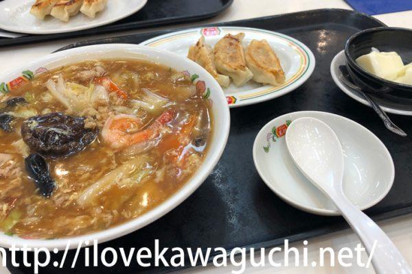 【川口ランチ】川口駅 アリオ川口 餃子の王将でランチを食べてきました