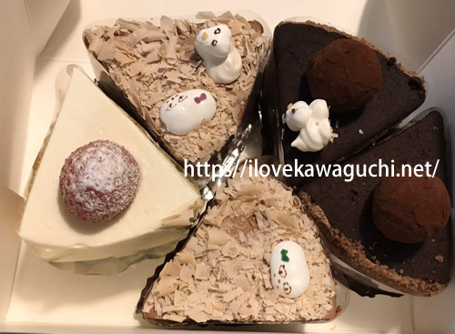 南鳩ヶ谷駅 フランス菓子 ケーキショップ アニック annick  チョコレートケーキがおいしいです