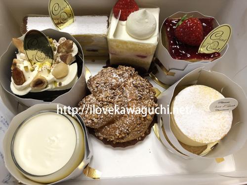 シャンドワゾー ケーキ
