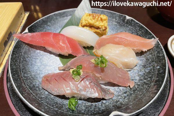 がってん寿司 承知の助 イオンモール川口前川店でラしたンチを食べました