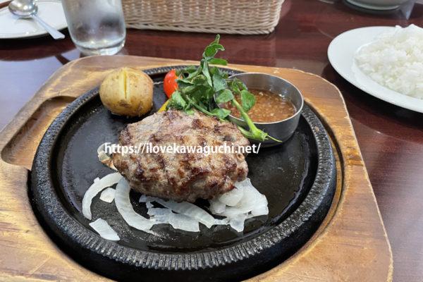 川口市元郷 スエヒロ館でディナーを食べる スープ、サラダ、パンが食べ放題 川口元郷駅徒歩20分