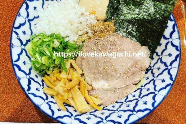 イオンモール川口 フードコートのおすすめ店 葵製麺 京都北白川 ラーメン 魁力屋