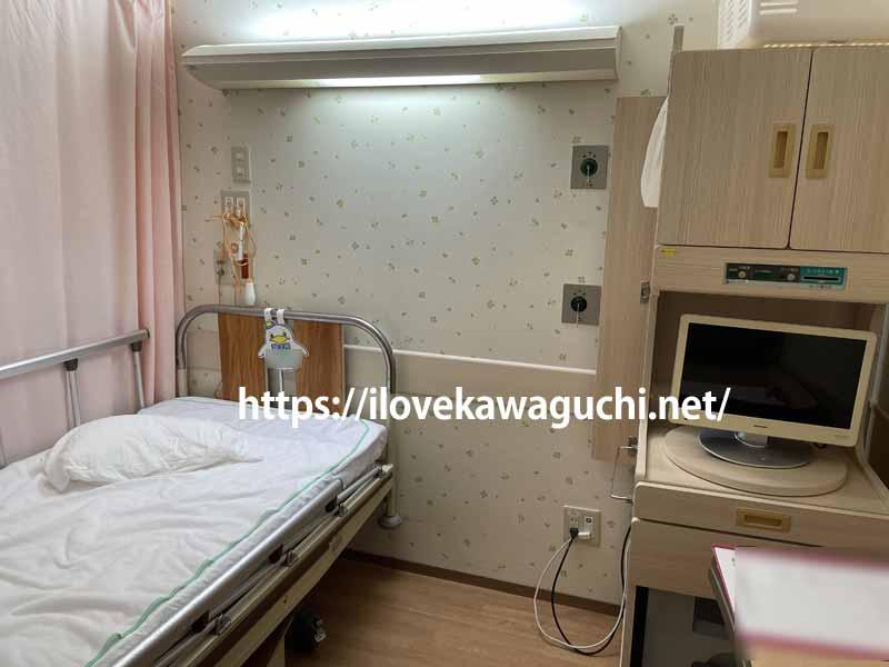博慈会記念病院小児科 入院棟